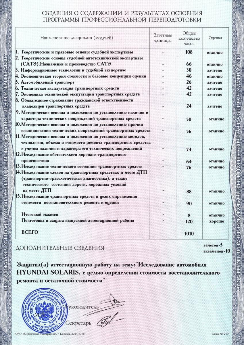 Координатор проекта Эксперт Север Эксперт Север Диплом судебного эксперта